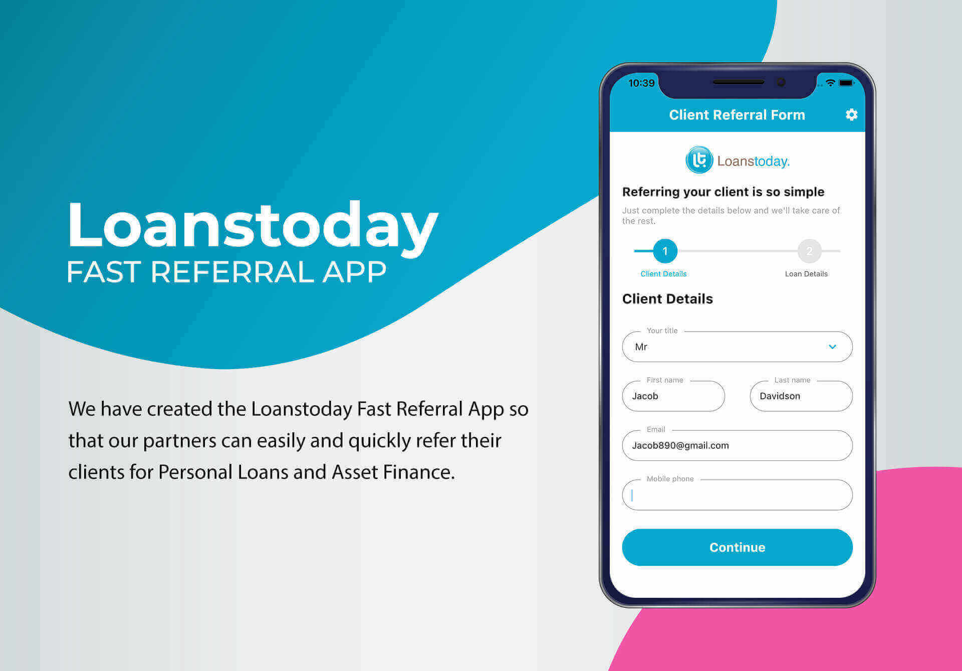 Loans Today App Developed by Boffin Coders