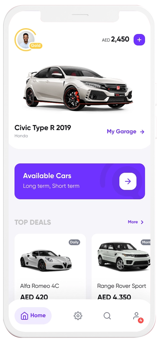 Features of Car Dealership Mobile App