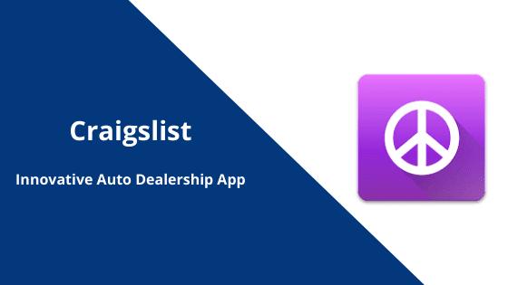 Craigslist - Car Dealership App